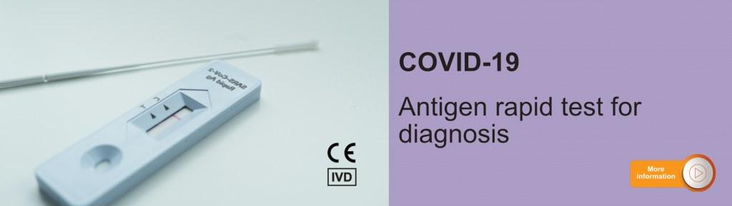COVID antigen rapid tests