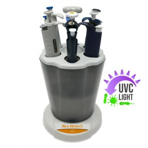 NeoLine UV - Pipette carousel with UV-C lamp